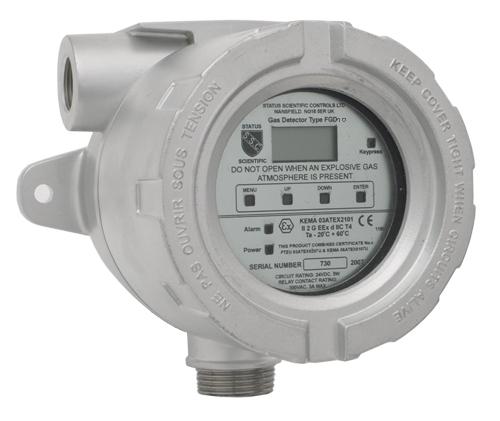 EX-6100 Remote Gas Monitoring - Sensor Transmitter