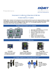 Compressed Airline Monitors Brochure