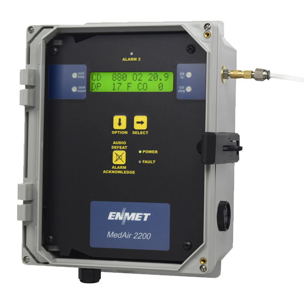 MedAir 2200 Compressed Airline Monitor